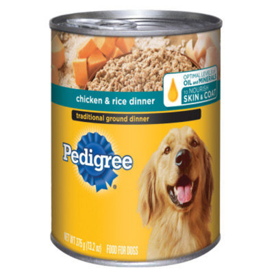 Pedigree® Chicken and Rice Dinner Traditional Ground
