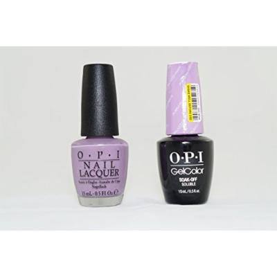 OPI Nail Lacquer and Gelcolor Purple Palazzo Pants V34. Each Bottle Contains .5 Oz.