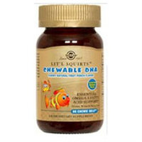 Solgar Lit'l Squirts Chewable DHA Chewie-Gels