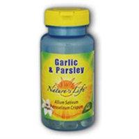 Nature's Life Garlic & Parsley Oil - 500 Softgels - Garlic
