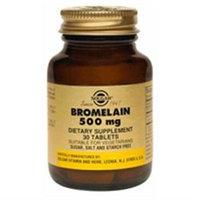 Solgar Bromelain 500 MG - 30 Tablets - Enzymes