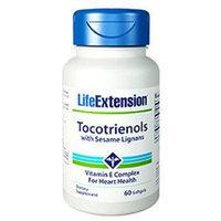 Life Extension Tocotrienols with Sesame Lignans - 60 Softgels