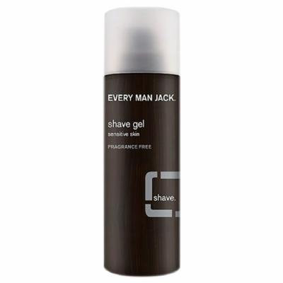 Every Man Jack - Shave Gel, Sensitive Skin, Fragrance Free - 7 oz