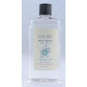La Tee Da La-Tee-Da Social Graces Effusion Fragrance Lamp Oil 16 Oz