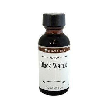 Lorann Oils LorAnn Artificial Flavoring Oils, Black Walnut Flavoring Oil, 1 Ounce Bottle