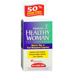 Healthy Woman Soy Menopause Supplement, Tablets, 45 ea