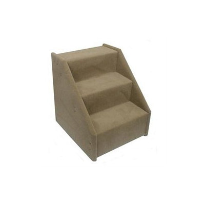 Animal Stuff Bear's Stairs Three-Step Value Line Pet Stairs in Beige