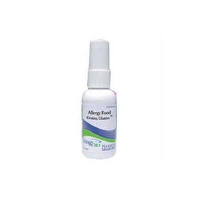 King Bio - Homeopathic Natural Medicine Grain & Gluten Allergy Relief - 2 oz.