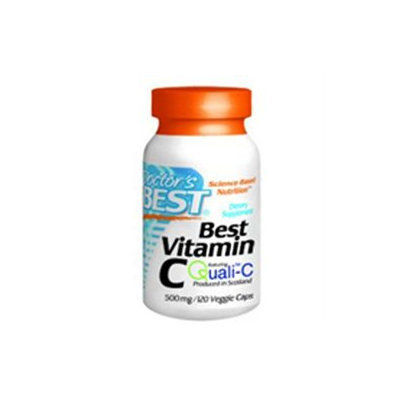 Doctor's Best Best Vitamin C 500mg, Veggie Caps