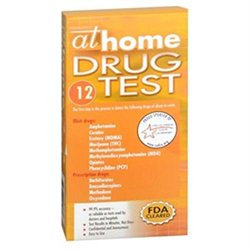 At Home 12 Panel Drug Test, 1 ea