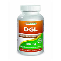 Best Naturals DGL Chewable 380 mg 180 Tablets