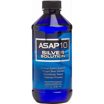 American Biotech Labs ASAP 10 PPM Silver Sol Immune System Support 8 oz.