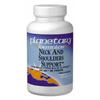 Planetary Formulations Neck And Shoulders Support 650 MG - 120 Tablets - Joint Support Herbs