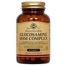 Solgar - Glucosamine MSM Complex (Shellfish-Free) Tablets - 120 K