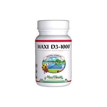 Maxi Health Vitamin D3 1000 IU - 360 Tablets