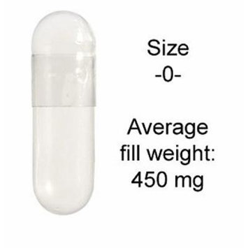 Gelatin Caps -0 -1,000/Bag