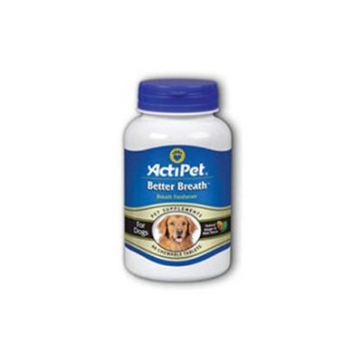 ActiPet - Better Breath For Dogs - 60 Chewable Tablets