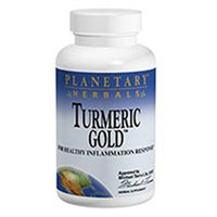 Planetary Herbals Turmeric Gold - 500 mg - 30 Capsules