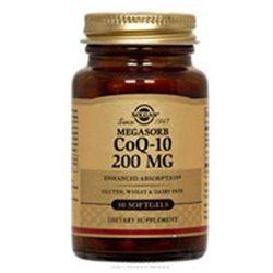 Solgar CoQ-10 - 200 mg - 60 Softgels