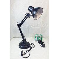 Flexible Swing Arm Clamp Mount Lamp Office Studio Home Table Desk Light