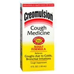 Creomulsion Cough Medicine, Adult Formula, Original, 4 fl oz