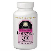 Source Naturals Coenzyme Q10, 125mg, 30 Capsules