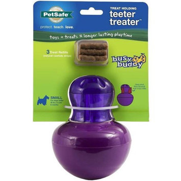 Pet Safe Busy Buddy Teeter Treater Dog Toy Small