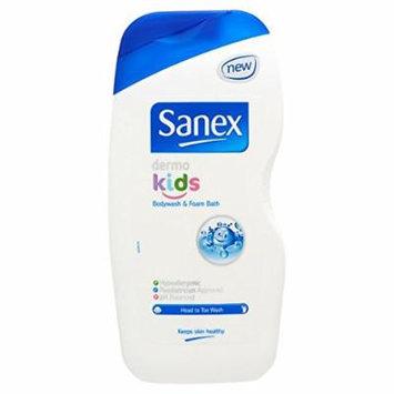 Sanex Body Wash & Foam Bath for Kids Zero% 500ml