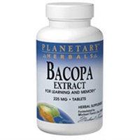 Planetary Herbals, Ayurvedics Bacopa Extract 225 mg 120 Tablets