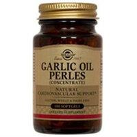 Solgar Garlic Oil Perles - 100 Softgels - Garlic