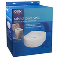 Apex-carex Healthcare Raised Toilet Seat With Blow Molded, Model: B310-00, By Apex-carex