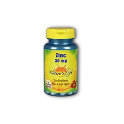 Nature's Life Zinc Picolinate - 30 mg - 250 Capsules