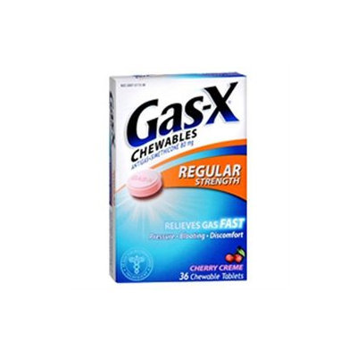 Gas-X Antigas Tablets, Cherry Creme, 36 ea