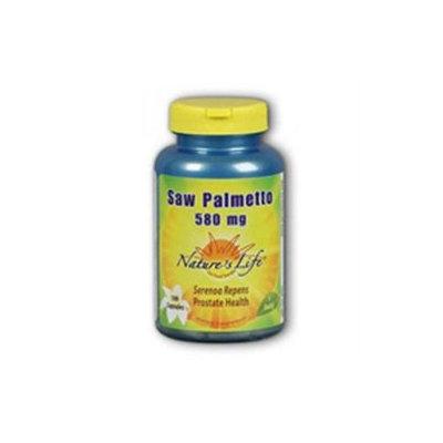 Nature's Life Saw Palmetto - 580 mg - 100 Capsules