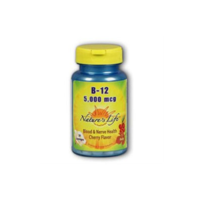 Nature's Life Vitamin B-12 Cherry - 5000 mcg - 100 Lozenges