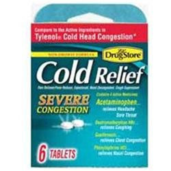 Sinus Cold Relief, 3 Doses