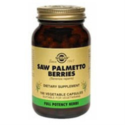 Solgar Saw Palmetto Berries - 100 Veggie Caps - Other Herbs