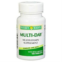 Nature's Bounty Multi-Day with Beta-Carotene - 100 Coated Tablets