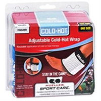 Elastic Wrap, Mesh Pouch and Medium Hot/Cold Pack (Black)