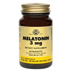 Solgar Melatonin - 3 mg - 60 Nuggets