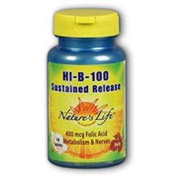 Nature's Life Hi B Complex - 100 Tablets - Vitamin B Complex