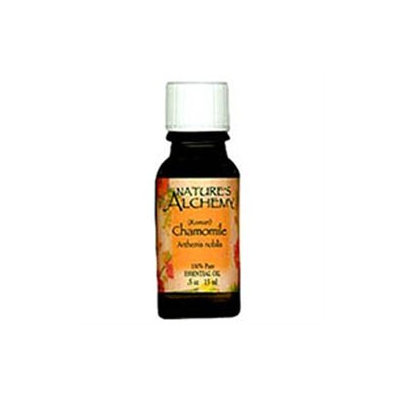tures Alchemy Roman Chamomile Essential Oil by Nature's Alchemy - 0.5oz.