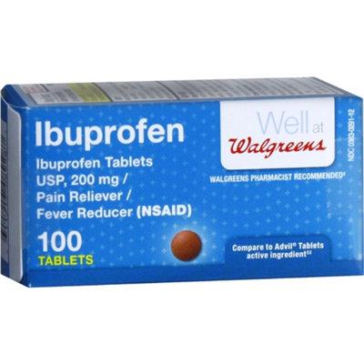 Walgreens Ibuprofen 200 mg 100 Tablets
