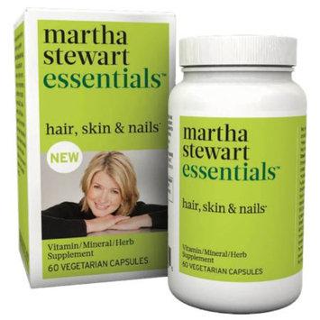 Martha Stewart Essentials Hair, Skin & Nails Capsules, 60 ea
