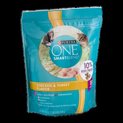 Purina One SmartBlend Cat Food Chicken & Turkey Flavor