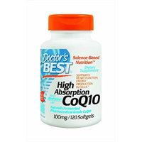 Doctor's Best High Absorption Coq10 w/ BioPerine(100 mg / 120 Softgels)