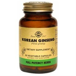 Solgar Korean Ginseng - 50 Vegetable Capsules