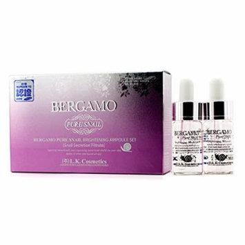 Bergamo Ampoule Set - Snow White & Vita-White 4x13ml/0.43oz