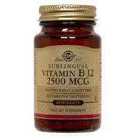 Solgar Vitamin B12 Sublingual - 2500 mcg - 120 Nuggets