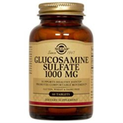 Solgar Glucosamine Sulfate - 1000 mg - 60 Tablets